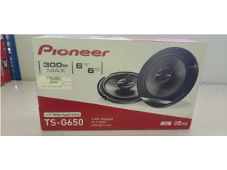 Pioneer  6  1/2  speakers , Puerto Rico