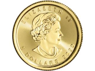 Monedas de oro, Puerto Rico