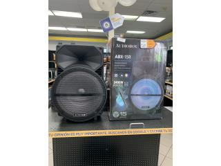 Speaker AudioBox, Puerto Rico