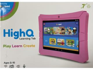 Tablet para niña HighQ, Puerto Rico