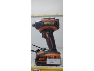 Ridgid  drill r86038, Puerto Rico