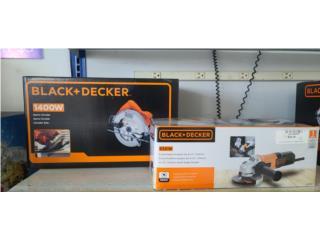 Black and Decker  circular saw  / grinder, Puerto Rico