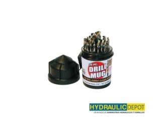 BARENAS DRILL MUG 29PC. Made USA, Puerto Rico