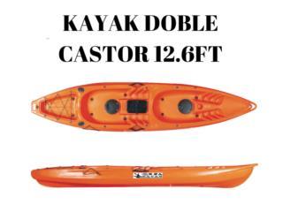 Orza Kayak Castor 12.6 doble, Puerto Rico