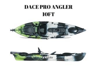 Orza Kayak Dace Pro Angler 10 pies con timon, Puerto Rico