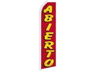 BANNER ABIERTO RD/YW 2'5, Puerto Rico