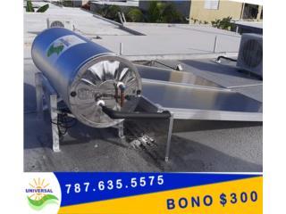 #1  Premio – Calentador Solar UNIVERSAL®, Puerto Rico