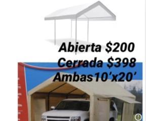 CARPAS 10'x20' , Puerto Rico