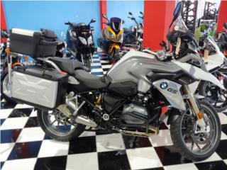 BMW - BMW GS1200 2016 Gris y Blanca   Puerto Rico