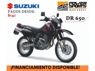Suzuki - ¡NEW 2019! SUZUKI DR 650 Puerto Rico
