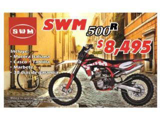 AJS - Motora SWM 500 Puerto Rico