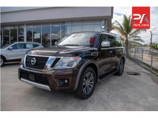 2018 Nissan Armada 4x2 SL (Liquidación), Nissan Puerto Rico