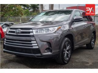 2018 Toyota Highlander LE, Toyota Puerto Rico