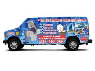 PLOMEROS CERTIFICADOS CERTIFICACIONES DE PLOMERIA Puerto Rico ELECTRICISTAS Y PLOMEROS 24/7 EN PUERTO RICO