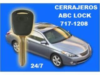 AB C LOCK LLAVES PARA   AUTOS - Reparacion Puerto Rico