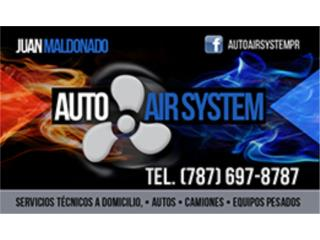 Auto Air System and Air Contractor - Reparacion Puerto Rico