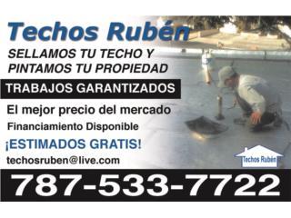 TECHOS RUBEN - Reparacion Puerto Rico
