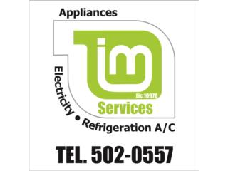 IM Electric & Refrigeration Services - Reparacion Puerto Rico