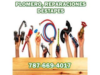 MAESTRO PLOMERO.COM, PLOMERÍA - Reparacion Puerto Rico