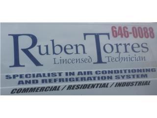 RUBEN TORRES A/C & REFRIG. - Reparacion Puerto Rico
