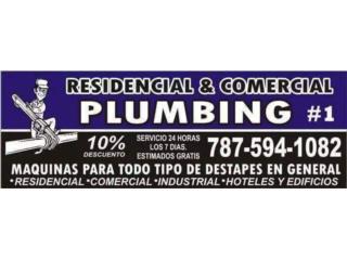 PLOMERO 24/7 - Instalacion Puerto Rico