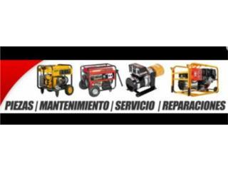 Any Parts/Plantas Electricas  - Reparacion Puerto Rico
