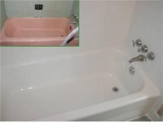 BATHTUB REFINISHING SYSTEMS - Construccion Puerto Rico