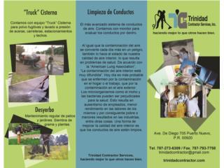 TRINIDAD CONTRACTOR SERVICES - Mantenimiento Puerto Rico