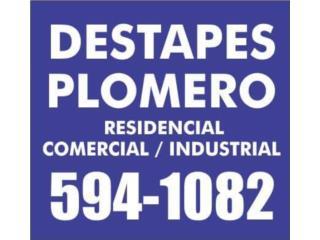 PLOMERO 24/7 emergencia  - Mantenimiento Puerto Rico
