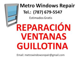 Metro Windows Repair - Mantenimiento Puerto Rico