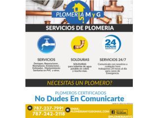 Plomeria M y G - Instalacion Puerto Rico