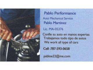 Pablo Performance  - Reparacion Puerto Rico