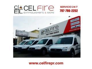 CEL Fire Extinguishers & More - Mantenimiento Puerto Rico