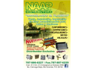 NAAP AIR DISTRIBUTORS INC - Reparacion Puerto Rico