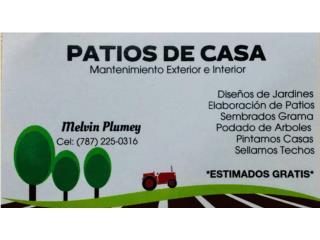 PATIOS DE CASA - Mantenimiento Puerto Rico