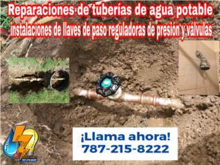 Plomeros Electricistas Destapes  - Reparacion Puerto Rico