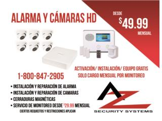 AZ SECURITY SYSTEMS - Reparacion Puerto Rico