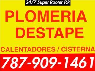 24/7 Súper Rooter - Reparacion Puerto Rico