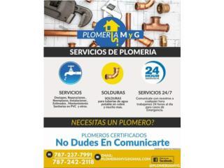 Plomeria M y G - Reparacion Puerto Rico