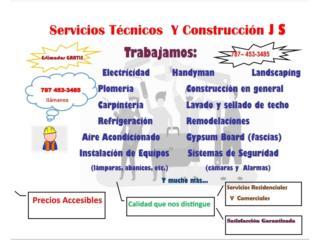 SERVICIOS TÉCNICOS y CONSTRUCCIÓN JS - Mantenimiento Puerto Rico