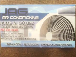 JAG Refrigeración Service - Reparacion Puerto Rico