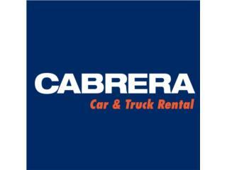 Cabrera Car & Truck Rental - Alquiler Puerto Rico