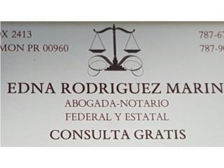 Abogado (consulta gratis) Edna Rodriguez Marin - Orientacion Puerto Rico