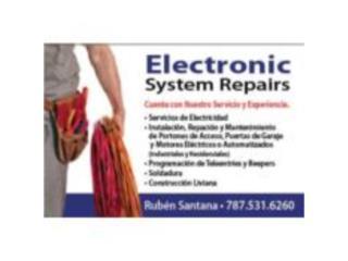 ELECTRONIC SYSTEM REPAIRS - Reparacion Puerto Rico