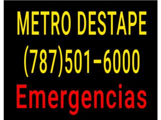 METRO  DESTAPE - Mantenimiento Puerto Rico