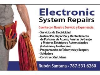 ELECTRONIC SYSTEM REPAIRS - Reparacion Puerto Rico