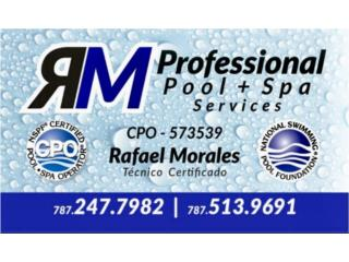 RM PROFESSIONAL POOL & SPA  - Reparacion Puerto Rico