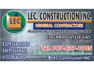 LEC. CONSTRUCTION,INC. - Construccion Puerto Rico