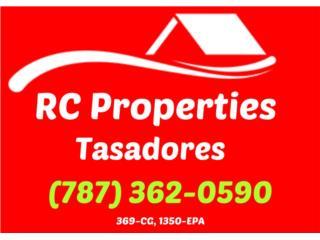 RC Properties - Tasadores de Bienes Raíces - Compro Puerto Rico