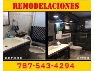 Remodelacion de Interiores y Exteriores - Construccion Puerto Rico